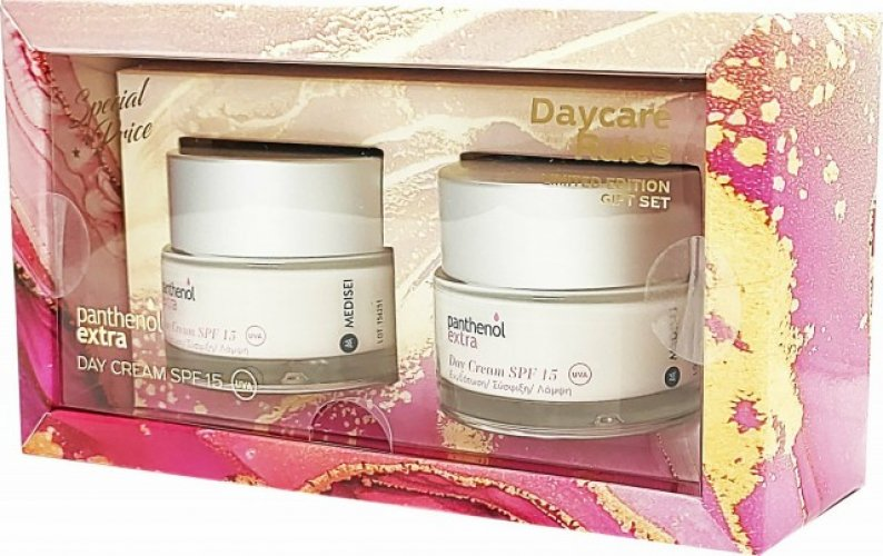 Panthenol Extra Day Cream SPF15 50ml 1+1 Δώρο